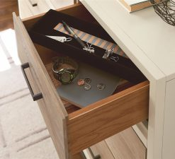 Smartstuff #MyRoom Drawer Dresser Gray and Parchment Universal Children's Furniture White Wood Dresser Storage Bedroom Nursery Baby Kid Changing Station