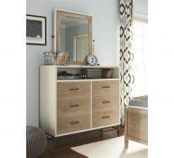 Smartstuff #MyRoom Tilt Mirror Gray and Parchment Universal Children's Furniture Bedroom