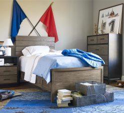 Smartstuff #MyRoom Drawer Chest Chalkboard & Backpack Universal Children's Furniture Dresser Drawer Room Bedroom Nursery Kids Nightstand Twin Bed Panel