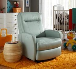 Best Chairs Costilla Swivel Glider Recliner Power Rocker Baby Nursery
