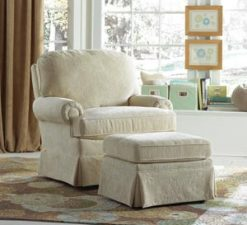 Best Chairs Storytime Series Braxton Swivel Glider and Ottoman
