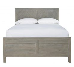 Universal Smartstuff Scrimmage Reading Bed Bedroom Guest Room Grey Gray Worn Farm House Rustic Greystone