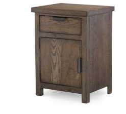 Legacy Classic Kids Fulton County Nightstand Tawny Brown Children's Bedroom Furniture Bedside Table Rustic