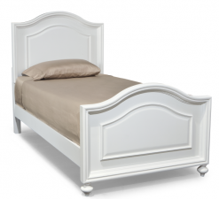 Legacy Classic Kids Madison Panel Twin Bed Natural White Bedroom Children's Furniture