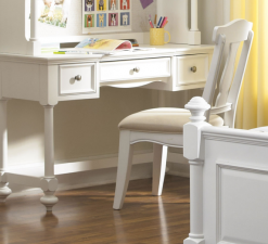 Legacy Classic Kids Madison Desk Natural White Children's Furniture Office Study