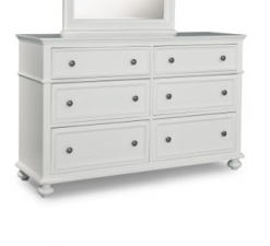Legacy Classic Kids Madison Dresser Natural White Children's Furniture Simple Bedroom Dresser Drawer