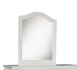 Legacy Classic Kids Madison Arched Dresser Mirror Natural White Children's Furniture Bedroom
