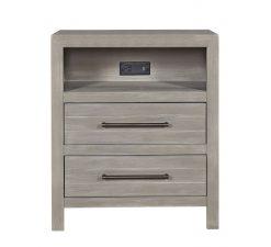 Universal Furniture Smartstuff Nightstand Scrimmage Bedroom Nursery Greystone Wood Children's Room Kids