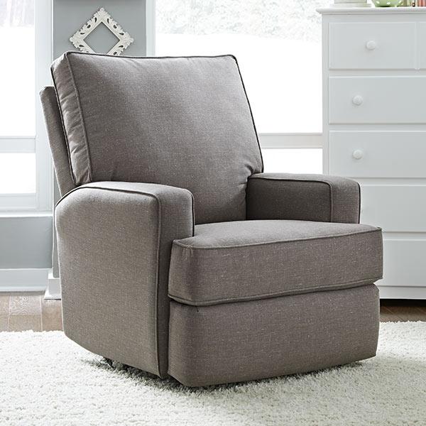 Best Chairs Kersey Swivel Glider Recliner Cuddlebugzz