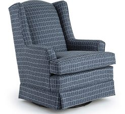 Best Chairs Natasha | Swivel Glider