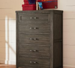 Legacy Classic Kids Bunkhouse Drawer Chest Aged Barnwood Children's Furniture Rustic Farmhouse