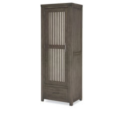 Legacy Classic Kids Bunkhouse Locker Door Chest Aged Barnwood Bedrom Storage Children's Furniture Metal Wood Drawer Rustic