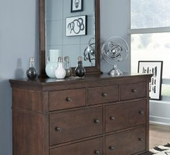 Legacy Classic Kids Canterbury Vertical Mirror and Dresser   Warm Cherry