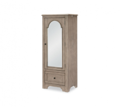 Legacy Classic Kids Farm House Mirrored Door Chest  Old Crate Brown