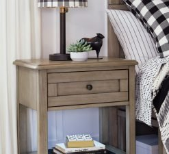 Legacy Classic Kids Farm House Open Night Stand | Old Crate Brown