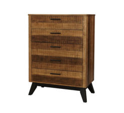 Westwood Design Urban Rustic Chest | Brushed Wheat