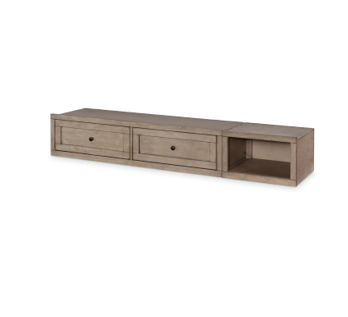 Legacy Classic Kids Farm House Underbed Storage Unit | Old Crate Brown