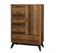 Westwood Design Urban Rustic Chifferobe | Brushed Wheat