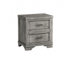Westwood Design Foundry Nightstand | Brushed Pewter