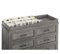 Westwood Design Foundry Changing Table | Brushed Pewter